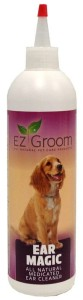 EZ-Groom - Ear Magic All Natural Medicated Ear Cleaner - płyn do czyszczenia uszu dla psów, 473 ml