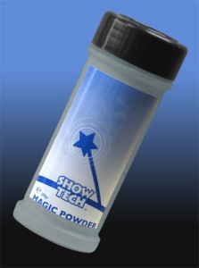 Show Tech - Magic Powder - sypki puder kolorowy, kolor ciemny szary, 100 g