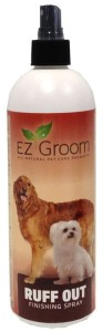 EZ-Groom - Ruff Out Finishing Spray - nabłyszczacz i odżywka w sprayu, 473 ml
