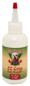 EZ-Groom - Ear Grip, Ear Powder - puder do czyszczenia uszu, 80 g