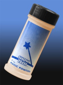 Show Tech - Magic Powder - sypki puder kolorowy, kolor czerwony brąz, 100 g