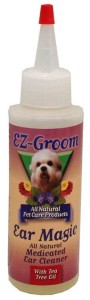 EZ-Groom - Ear Magic All Natural Medicated Ear Cleaner - płyn do czyszczenia uszu dla psów, 120 ml