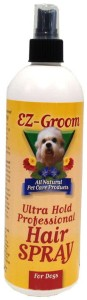EZ-Groom - Ultra Hold Professional Hair Spray - lakier modelujący w sprayu, 473 ml