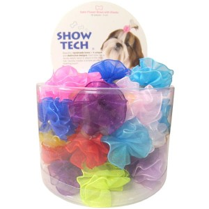 Show Tech - Satin Flower Bows - kokardki 50 szt.